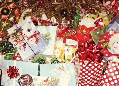Never trash your gift wrap, packaging or Christmas Tree..Recycle them!