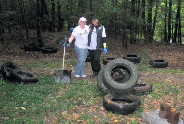 Pocono Creek Cleanup