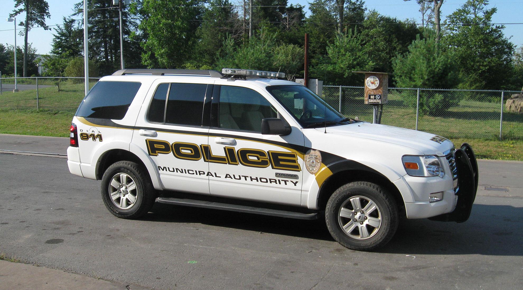 Police Enforcement Vehicle
