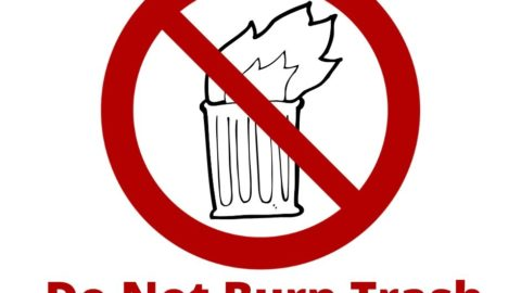 The Dangers of Burning Trash