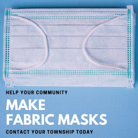 Your Township Collecting Fabric Masks to Donate to Local Hospitals