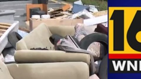 WNEP speaks to our Police Captain, Jacqueline Bagu, about combating illegal dumping