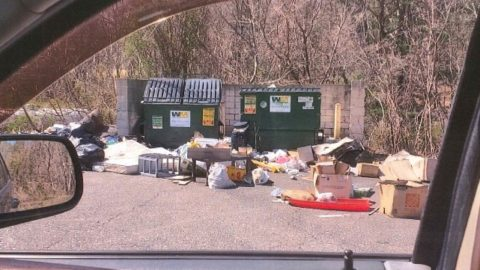 As the pandemic continues and some services are at a halt, Some are turning to Illegal Dumping and Burning
