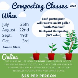 Composting Class Dates